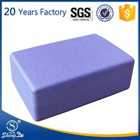 Yoga Blocks And Belt , Yoga Block-2 Pieces , Interlocking Foam Block