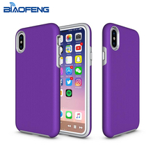 BiaoFeng factory oem / odm simple design protective mobile phone case shockproof for iphone 8 case wholesale