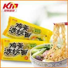 Air dried bag packet instant egg noodles