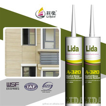 strong strength dry-hanging wall tile silicone sealant