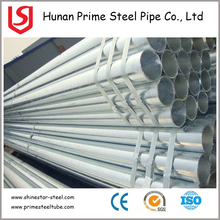 Tianjin GI Pipes! Hot Indian White Tube Galvanized Hot Dip Galvanized Pipe With Cap