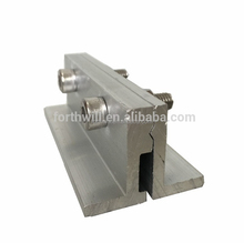 Solar Panel Installation Tin Roof Photovoltaic Solar Roof Aluminum Clamps Mounting Clamp