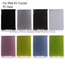 For iPad Air Smart Cover Partner Crystal Clear Hard Snap On Slim Case