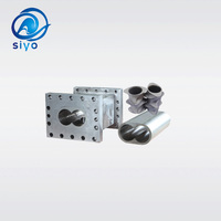 Twin screw and barrel for plastic extruder machine