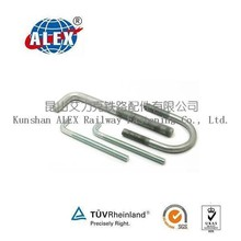 Hot Dip Galvanized Special Fasteners, Customized Special Fasteners, Top Railway Fastening Parts Manufacturer China ALEX