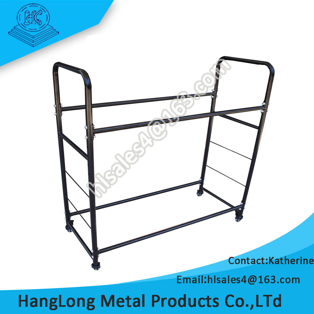 warehouse use durable tire display stand rack