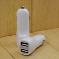 Mini Toyota USB Port Car Charger Adaptor Dual 2 USB Ports for iPod iPhone Samsung High Speed