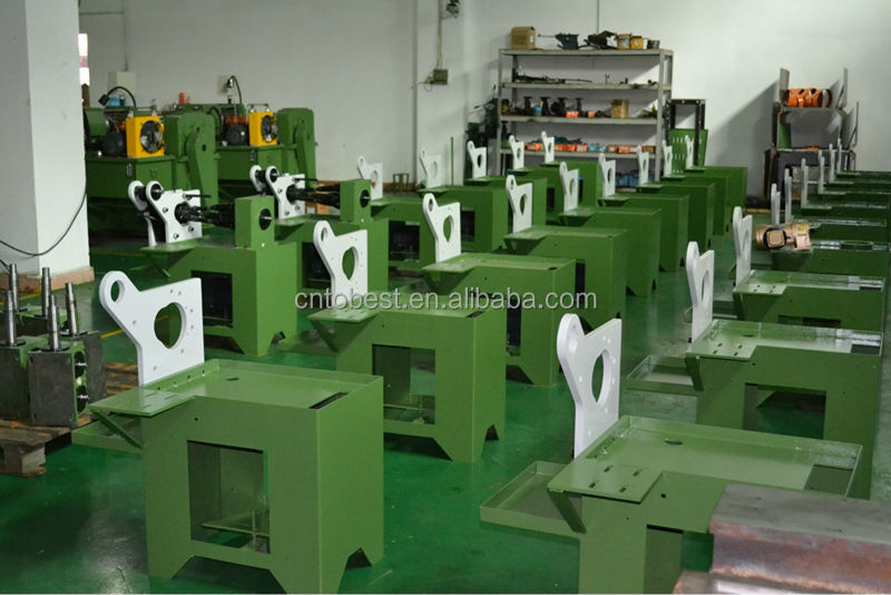 Tobest Factory  Scaffold Tube Thread Making Machine Bolts and Nuts Rolling Machine