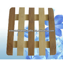 Weaving Mat Table Protected Household Cheap Square Wood placemat