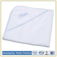 100% Cotton plain organic baby towels