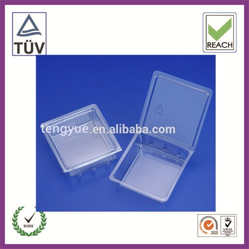 professional customized plastic clear clamshell blister packaging