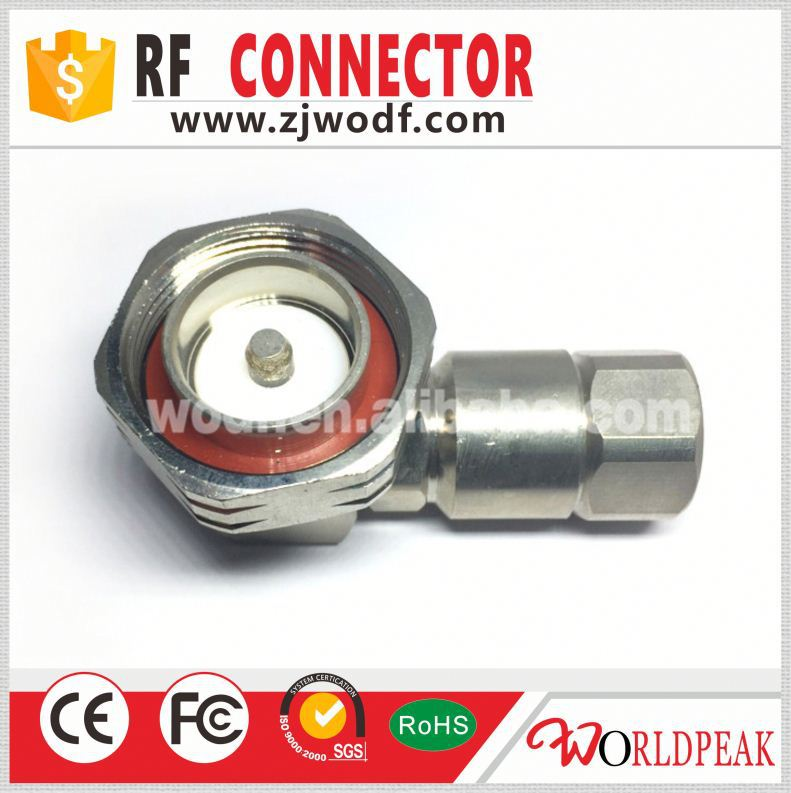 "Free sample 7/16 din clamp 1/2"" cable rf connector made in China"