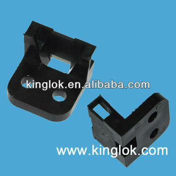 plastic cable tie holder MFT-25-2SH5 cable wire holder
