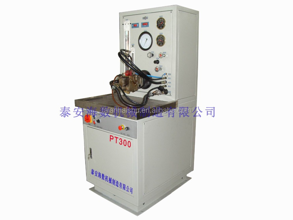 Specializing in the production of models of PT - 001 b of PT fuel pump test bed