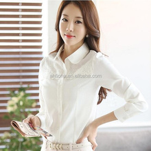 F40962A New spring women apparel korea elegant women lace tops blouses