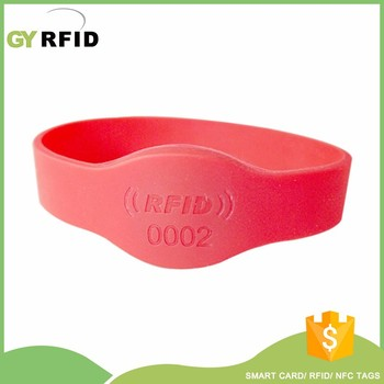 EM4102 Frequency Identification Gym Silicone Bracelet
