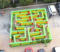 2016 inflatable maze
