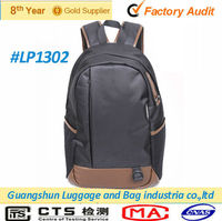 nylon laptop cheap bag 15 inch bag for men / polo laptop backpack