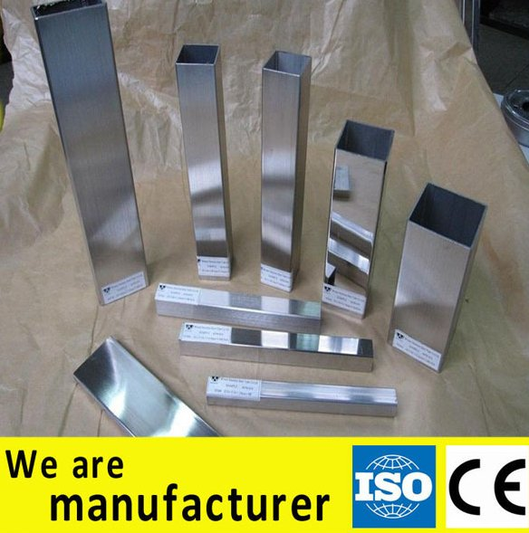 SSDmetal online shopping hong kong square 310S stainless steel tubes with high quality