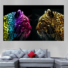 Stylish and cool display of the hd canvas art print without frame