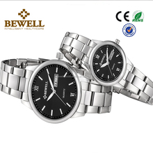 Hot Sale Designer Dual Calendar Stainless steel Couple Watches on sale