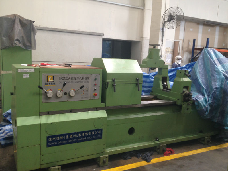 Used CNC Deep Hole Drilling & Boring Machine