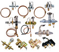 Gas water heater assembly /ODS pilot burner