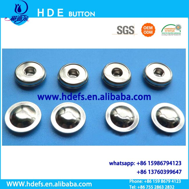 3 jaw lead wire medical button,ECG electrode button snap button