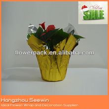 Christmas pot cover and bopp flower pot cover