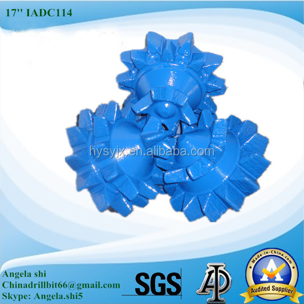 Steel tooth tricone bit/roller cone bit/rock bit for water well drilling