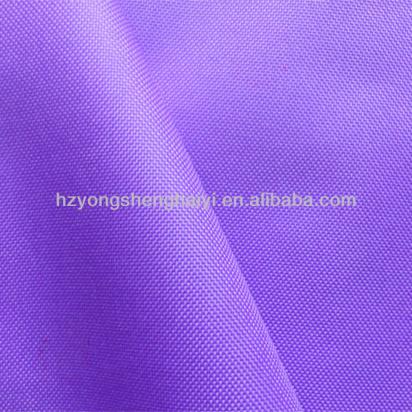600D polyester waterproof oxford fabric for outdoors use / good colour fastness fabric