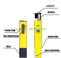 Portable digital ph meter pen ph manufacturers in china