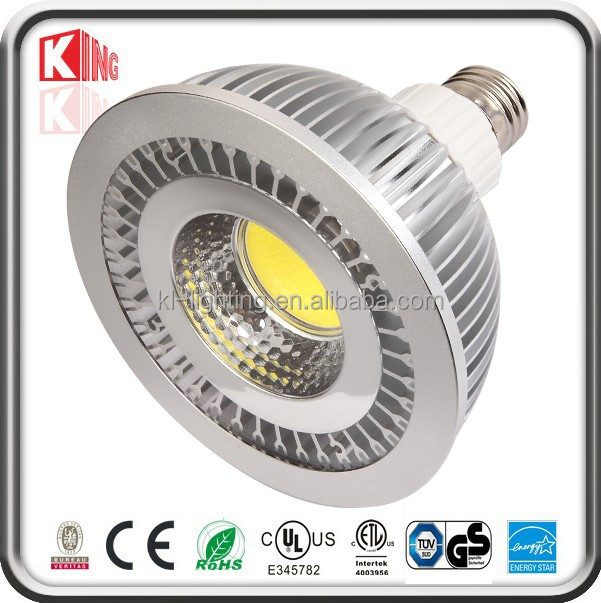 Energy Saving ETL CE RoHS COB LED par20 par30 par38 aquarium lights