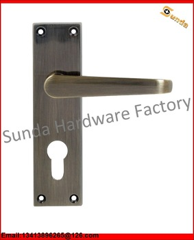 New Model Flush Door Handle Lock With Different Colors