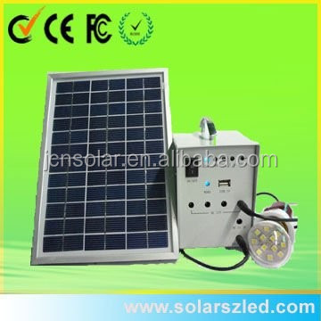 10W mini movable <strong>Solar</strong> camping generator paneles solares