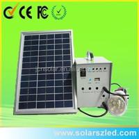 10W mini movable Solar camping generator paneles solares