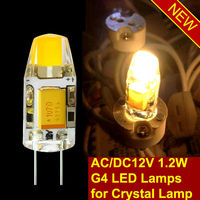 x bright led g4 1.2w lamp 12VDC/AC with 50000 hours lifetime