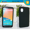 Brief style 5 color high quality soft silicone lighter phone case for lg