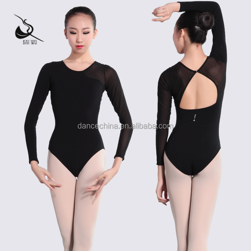 115141001 Mesh Leotard Ballet Dance wear Gymnastics Leotard