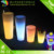 Colorful LED flower pot/outdoor garden decorative flower pot
