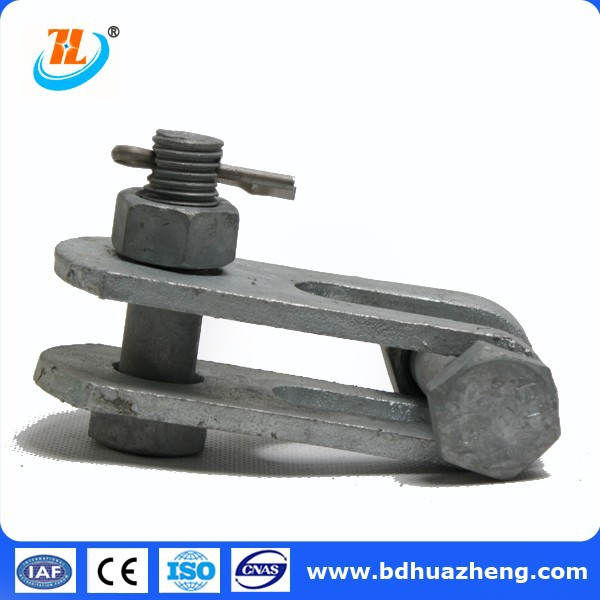 7 UB Z ZS type Twisted Clevis tongue overhead line fitting for power transmission and distribution