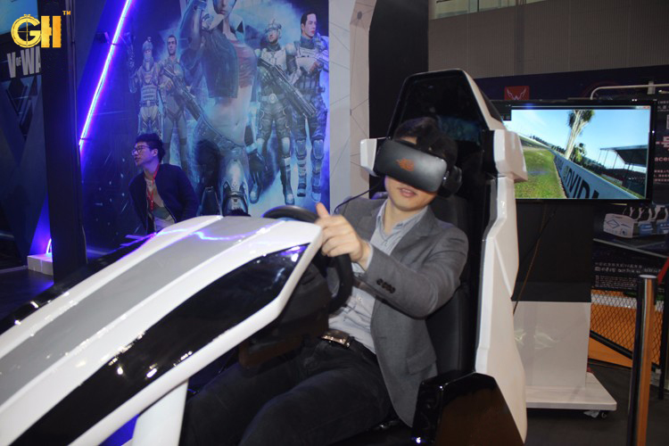 Virtual reality game products dynamic driving car simultaor
