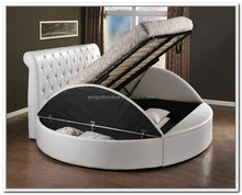 Modern designs bedroom furniture king size Alibaba italian bed