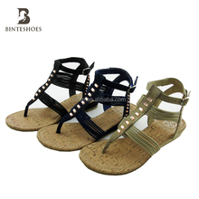 New Designs Ladies Fashion Fancy Flat crystal Stones Sandals flip flop sandals alibaba china market online shop china