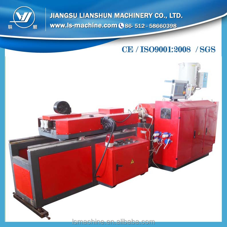 HDPE single wall corrugated plastic cable protection pipes process machine