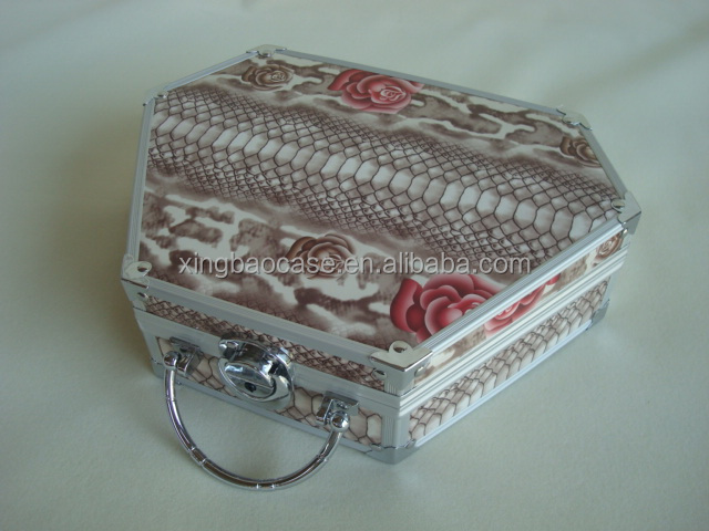 Aluminum practical color cosmetic case