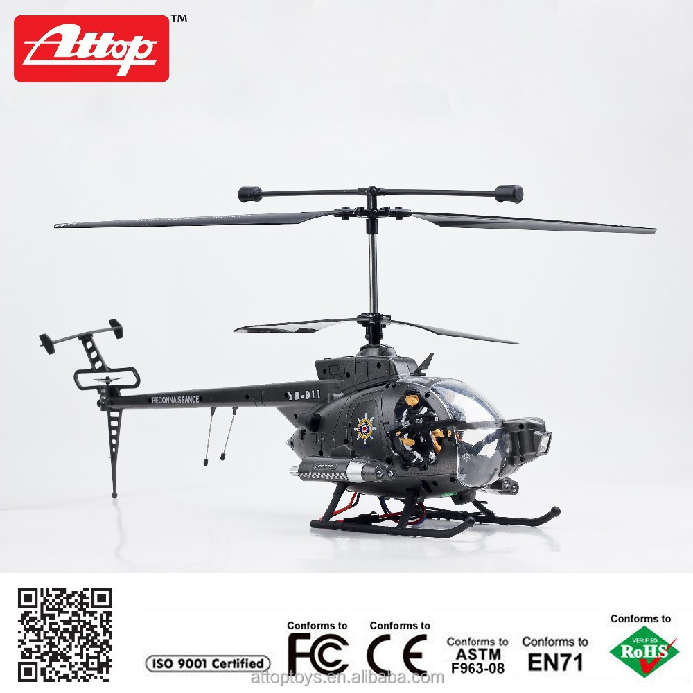 YD-119 2015 Hot sell 2.4G 3ch rc military helicopter