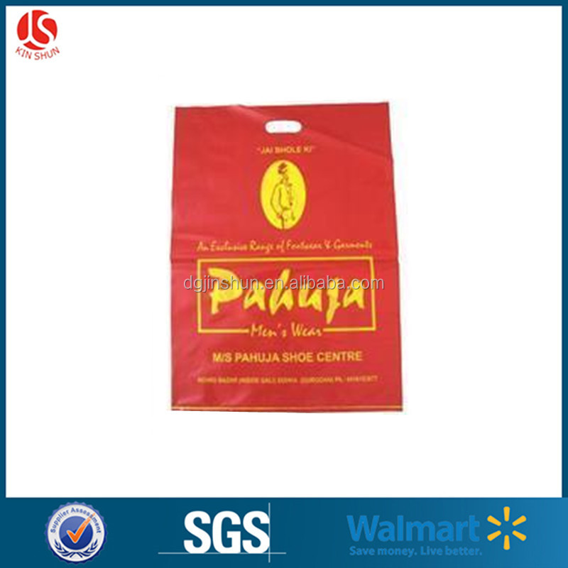 Shock Resistance Feature and Plastic Material White shopping bag export to Singapore