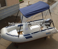 Small fiberglass fishing boats with Yamaha boat engine HLB380B