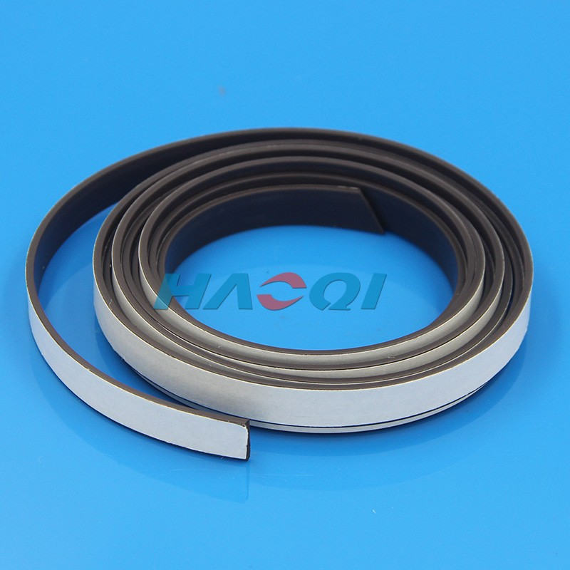 soft adhensive rubber flexible strips magnets